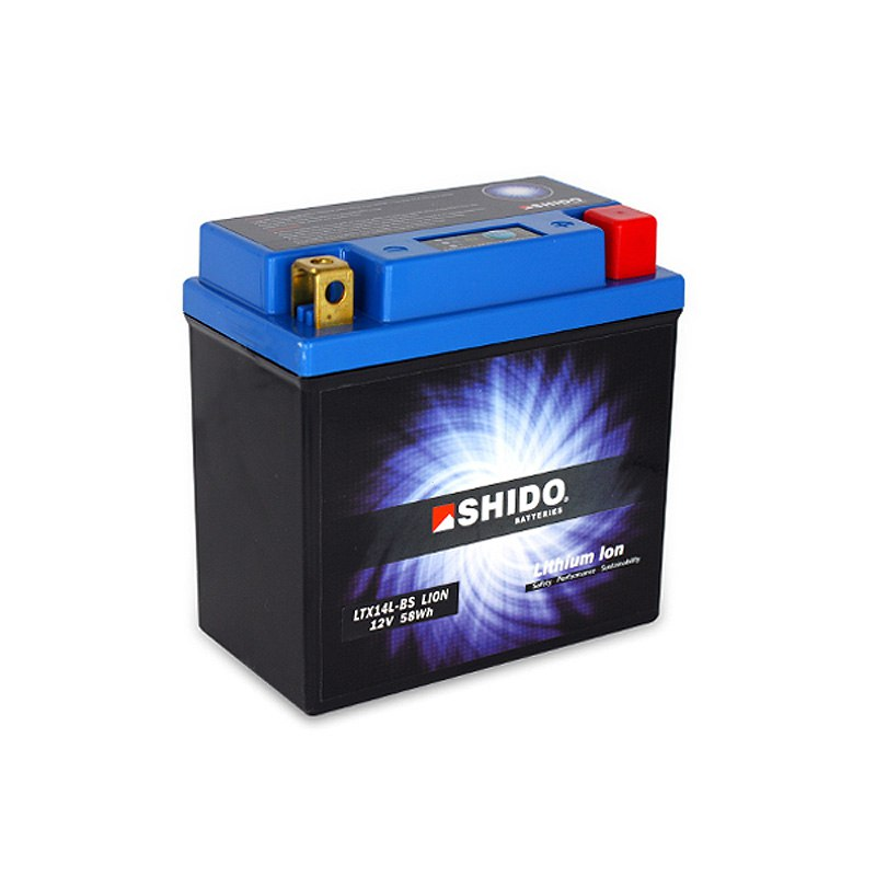 Batterie Shido Ltx14l-bs Lithium Ion Type Lithium Ion