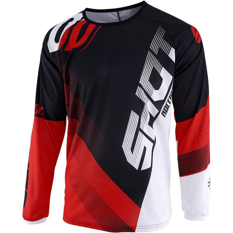 Maillot cross Shot DEVO ULTIMATE - BLACK RED 2019