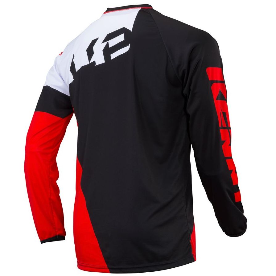 Maillot trial Kenny TRIAL UP - ROUGE NOIR BLANC 2019