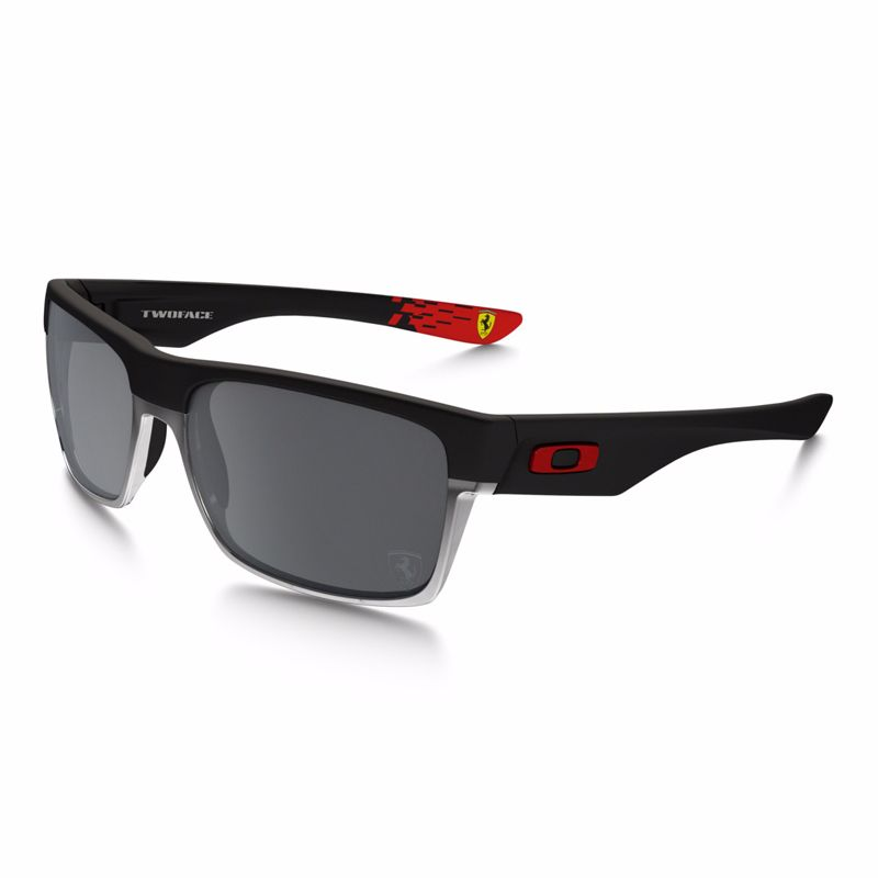 Lunettes De Soleil Oakley Two Face Ferrari Collection - Verres Iridium