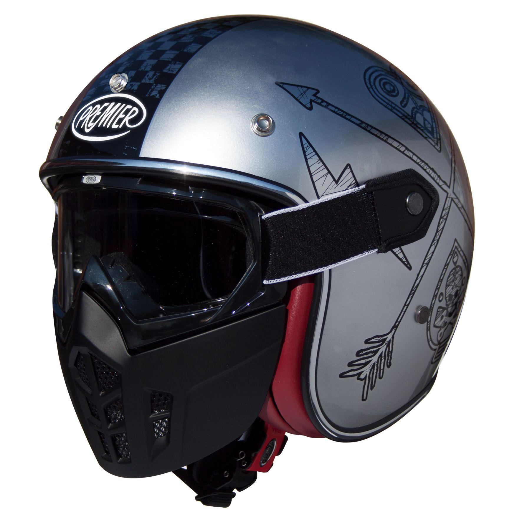 Casque Premier Mask Nx Chromed