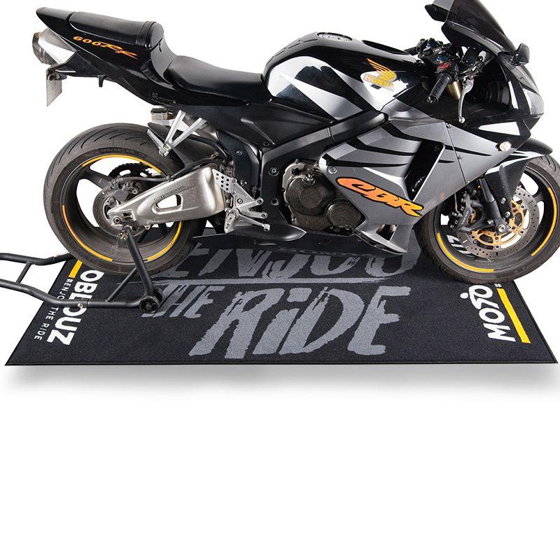 Tapis environnemental pour mécanique moto