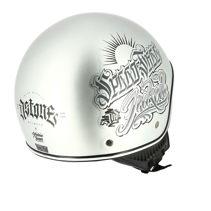 Casque Astone MINIJET 66 TATTOO - DIRTY THRILLS