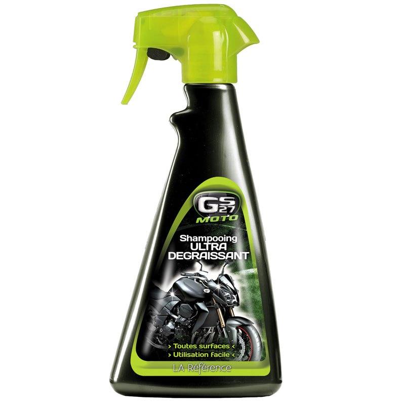produit entretien gs27 shampooing ultra degraissant 500ml huile spray entretien. Black Bedroom Furniture Sets. Home Design Ideas