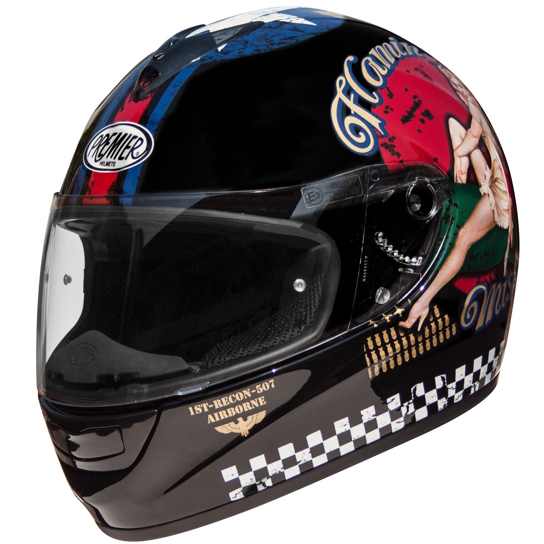 Casque Premier Monza Pin Up