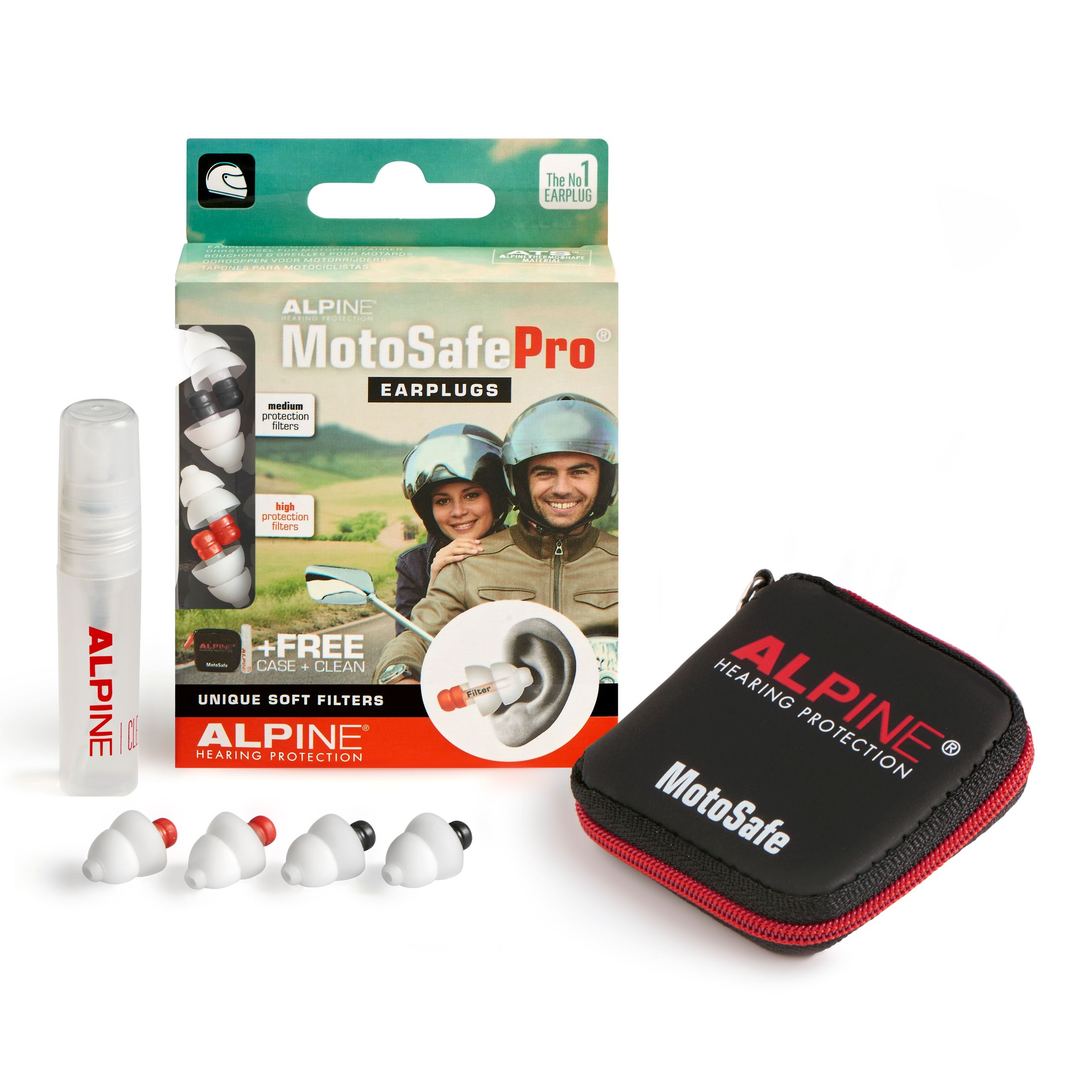 Protections Auditives Alpine Moto Safe Pro