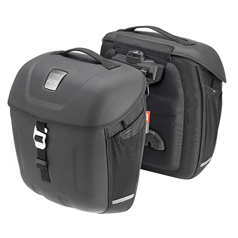 sacoches cavali res givi mt501 metro t 18 litres bagagerie moto. Black Bedroom Furniture Sets. Home Design Ideas