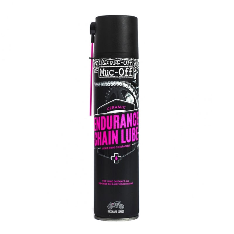 Graisse chaine Muc-Off Endurance ceramic Chain lube 400 ml