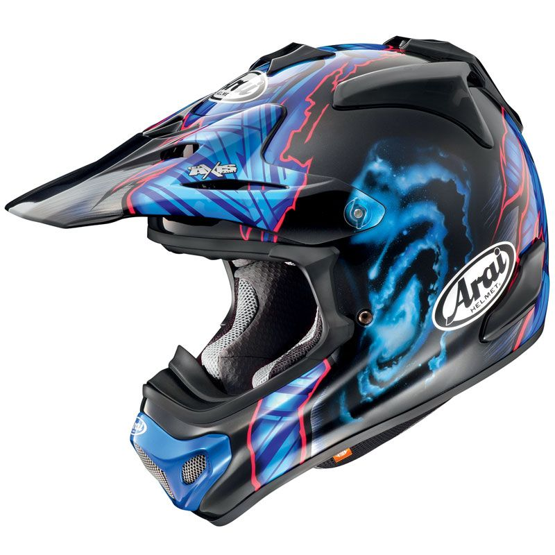 Casque Cross Arai Mx-v Barcia Noir