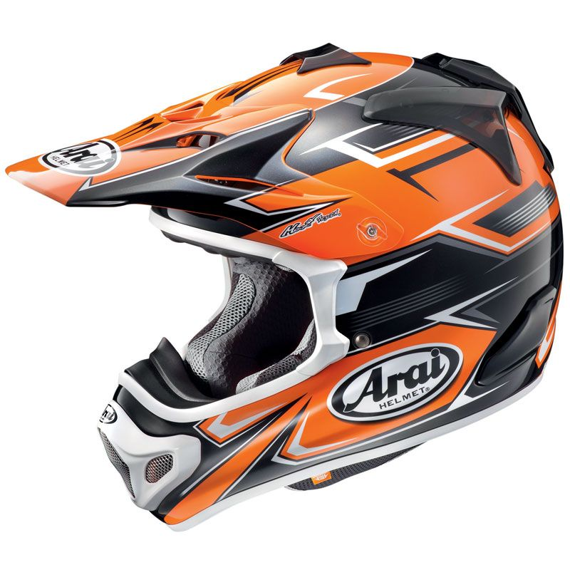 Casque Cross Arai Mx-v Sly Orange