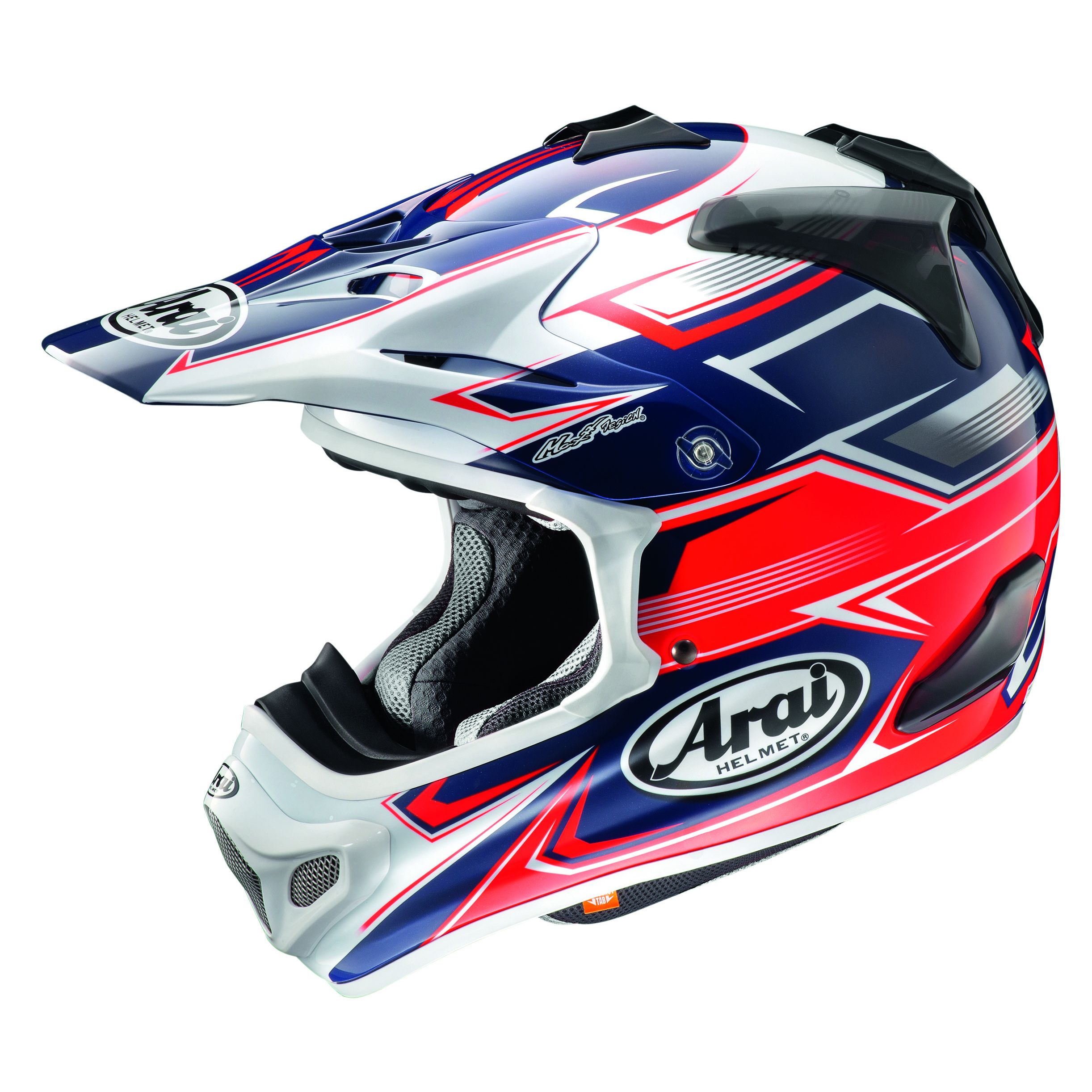 Casque Cross Arai Mx-v Sly Rouge