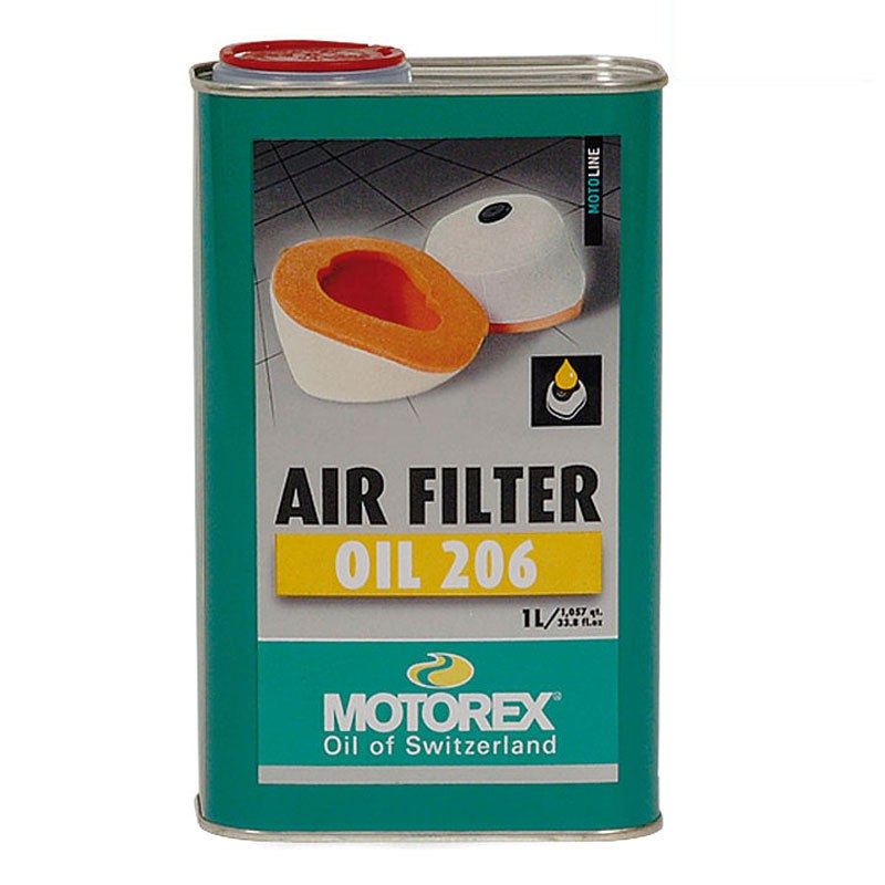 Huile De Filtre Motorex Air Filter Oil 206 1l