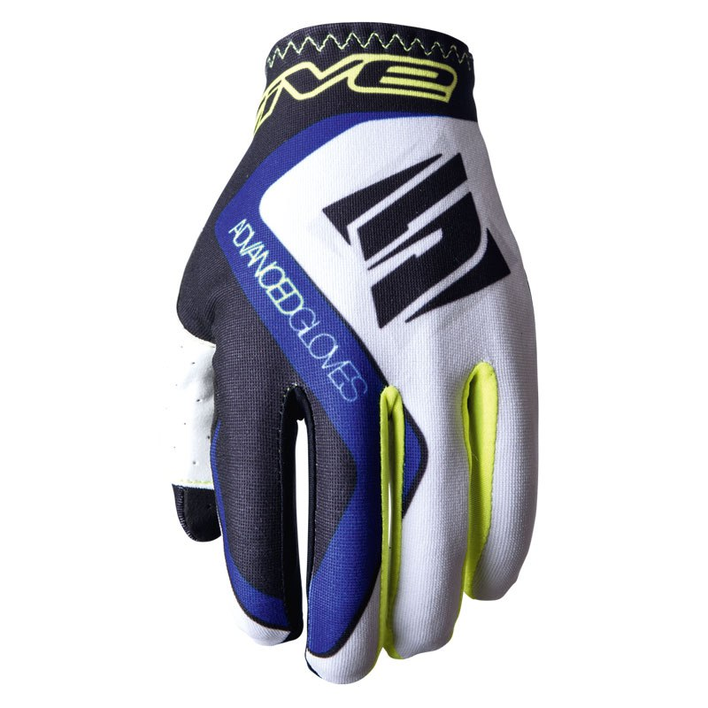 Gants Cross Five Mx Practice White Blue