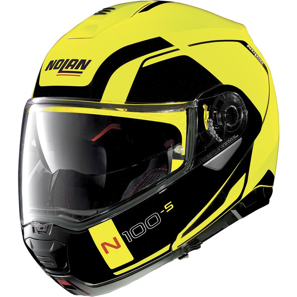 Casque Nolan N100.5 - CONSISTENCY N-COM - LED YELLOW