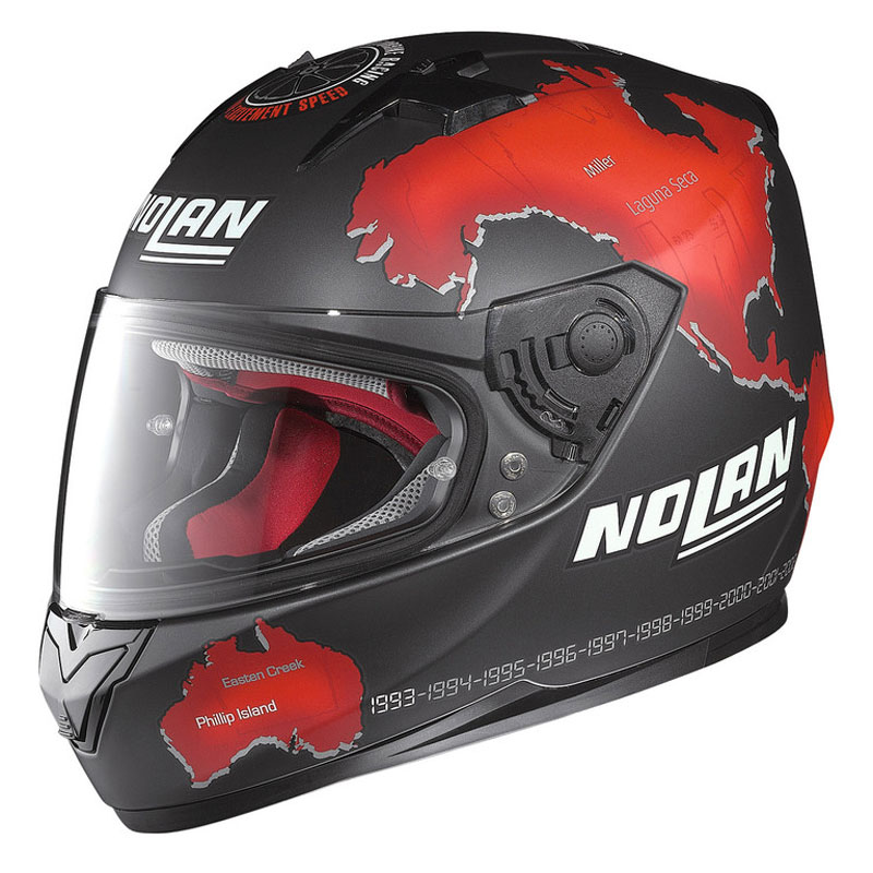 Casque Nolan N64 Replica Checa Black