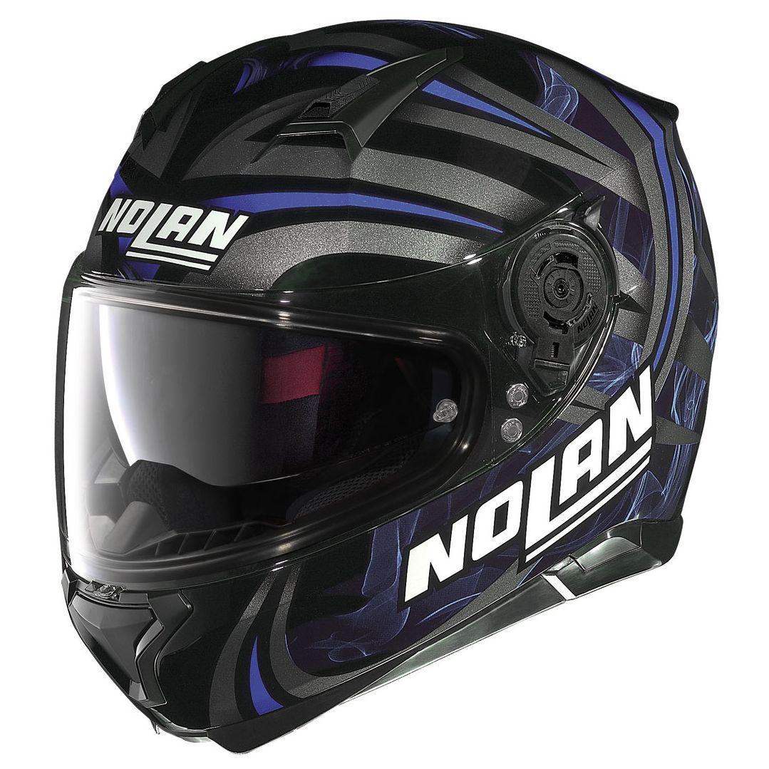 Casque Nolan N87 - Ledlight N-com - Glossy Black 29