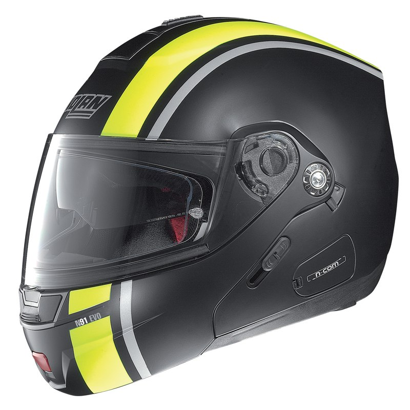 Casque Nolan N91 Evo Strip N Com Casque Modulable Motoblouzcom