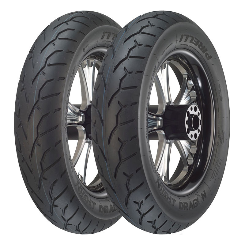 Pneumatique Pirelli NIGHT DRAGON 130/90 B 16 (67H) TL