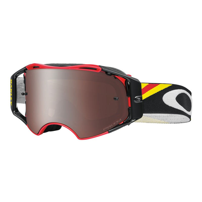 masque cross oakley airbrake mx heritage racer red lens prizm black 2016 masque et lunettes. Black Bedroom Furniture Sets. Home Design Ideas