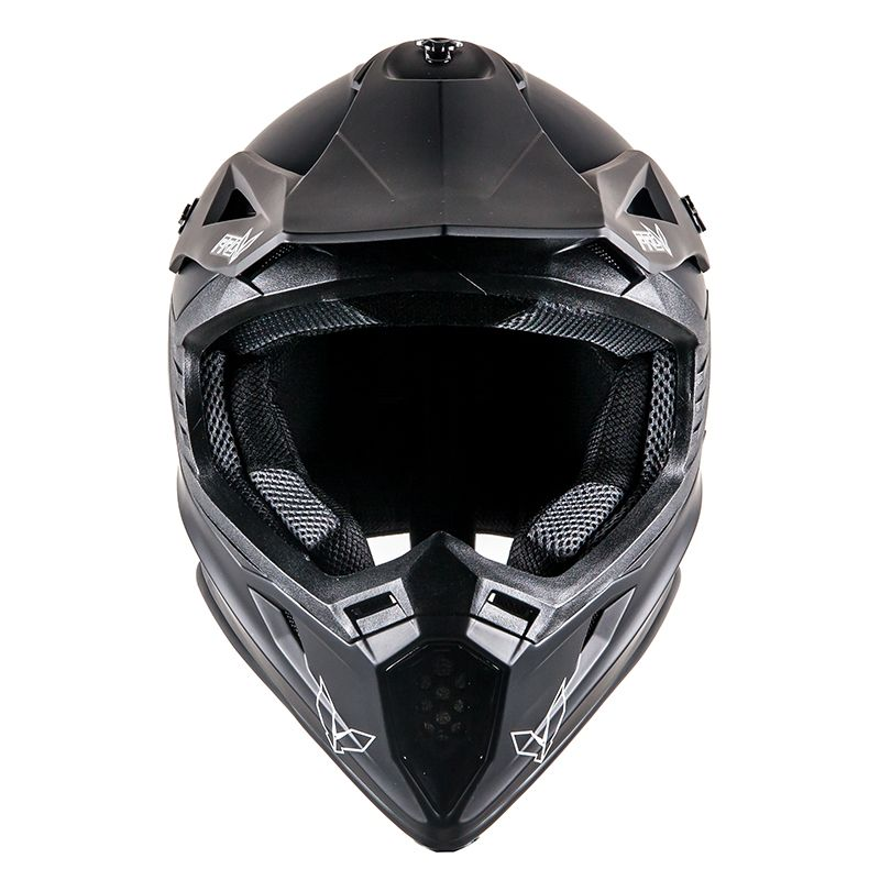 Casque cross Prov SKUD BASE BLACK MAT