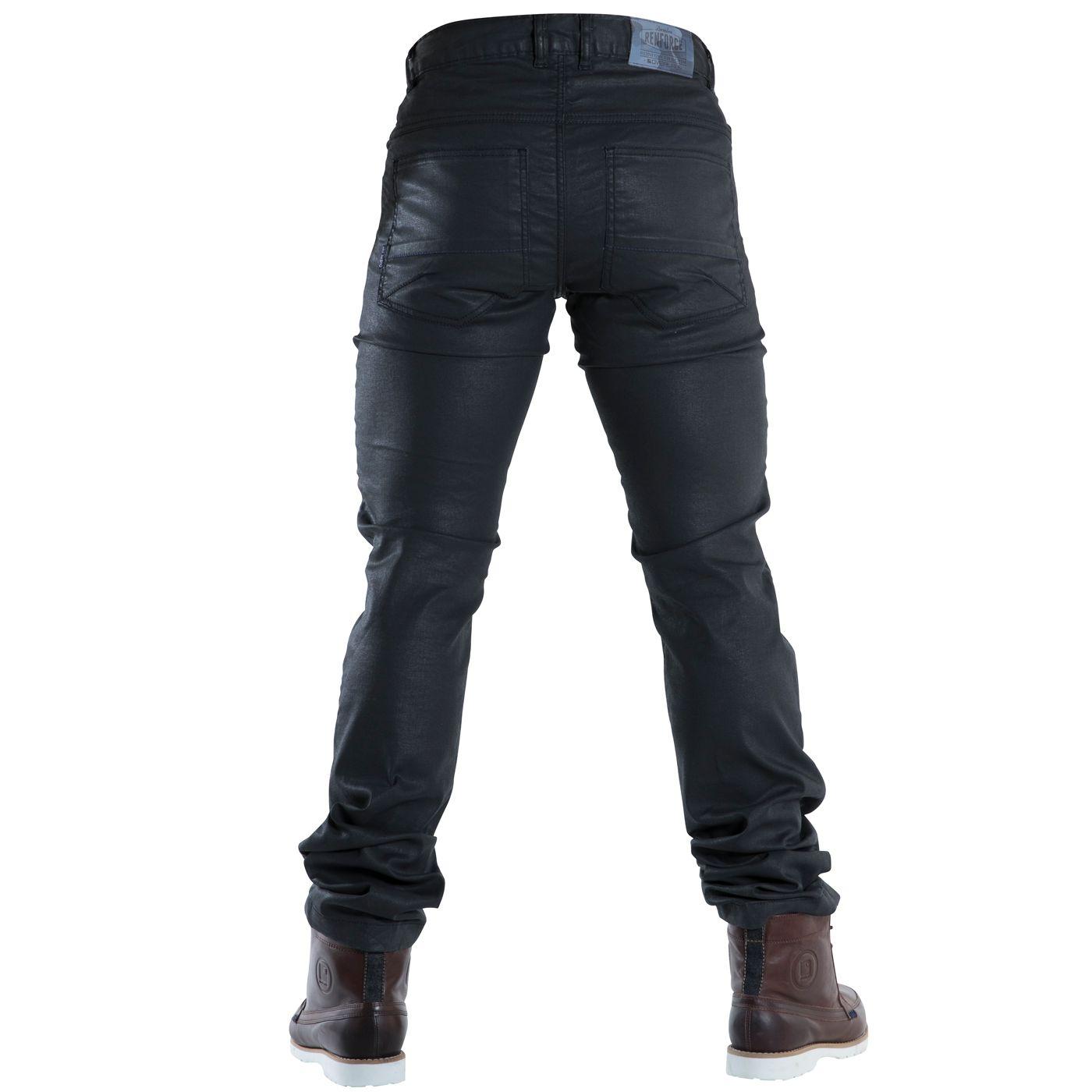 pantalon moto jean enduit