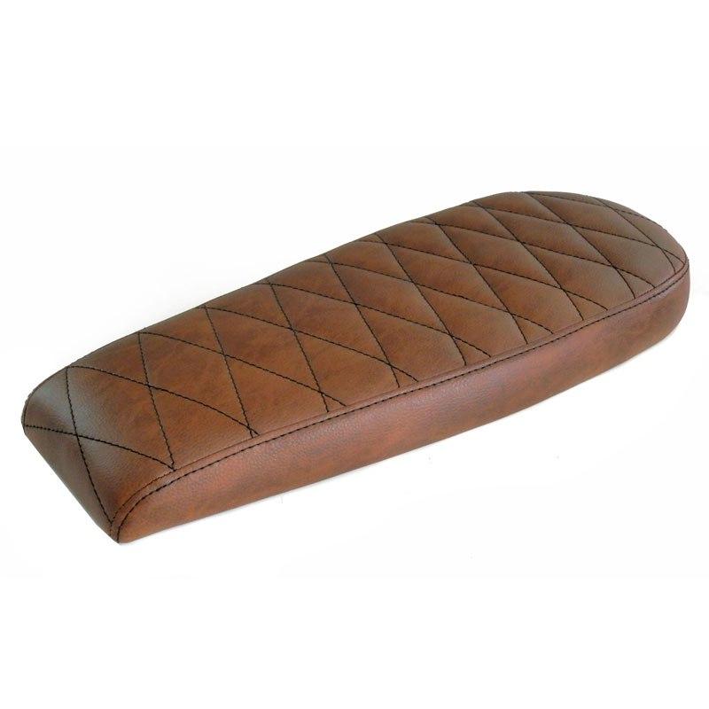 selle confort mad scrambler marron habillage moto. Black Bedroom Furniture Sets. Home Design Ideas