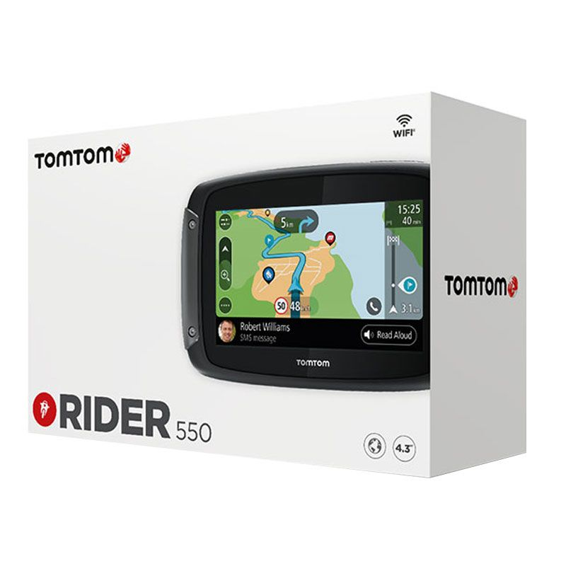 gps tomtom rider 550 high tech. Black Bedroom Furniture Sets. Home Design Ideas