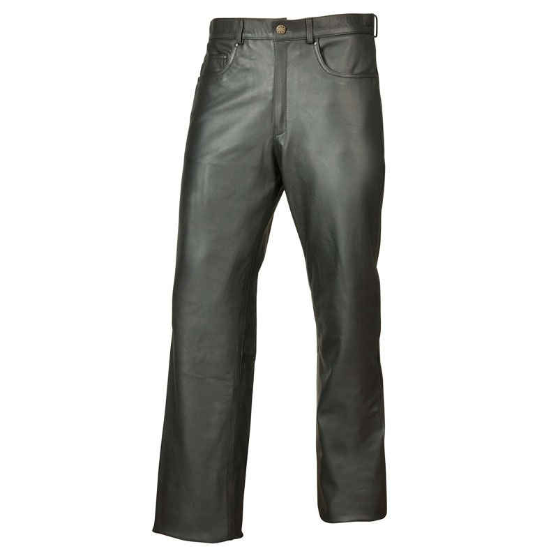 Pantalon Motomod Jeans Cuir Millied Femme