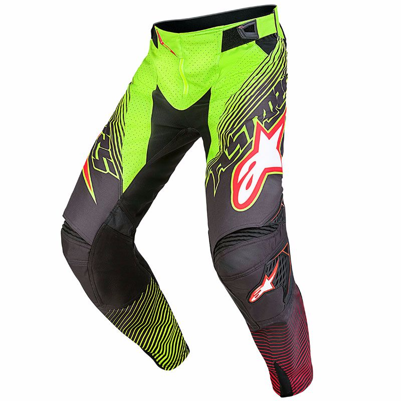 Pantalon cross Alpinestars TECHSTAR FACTORY - Edition Limitée LE TORCH  2017