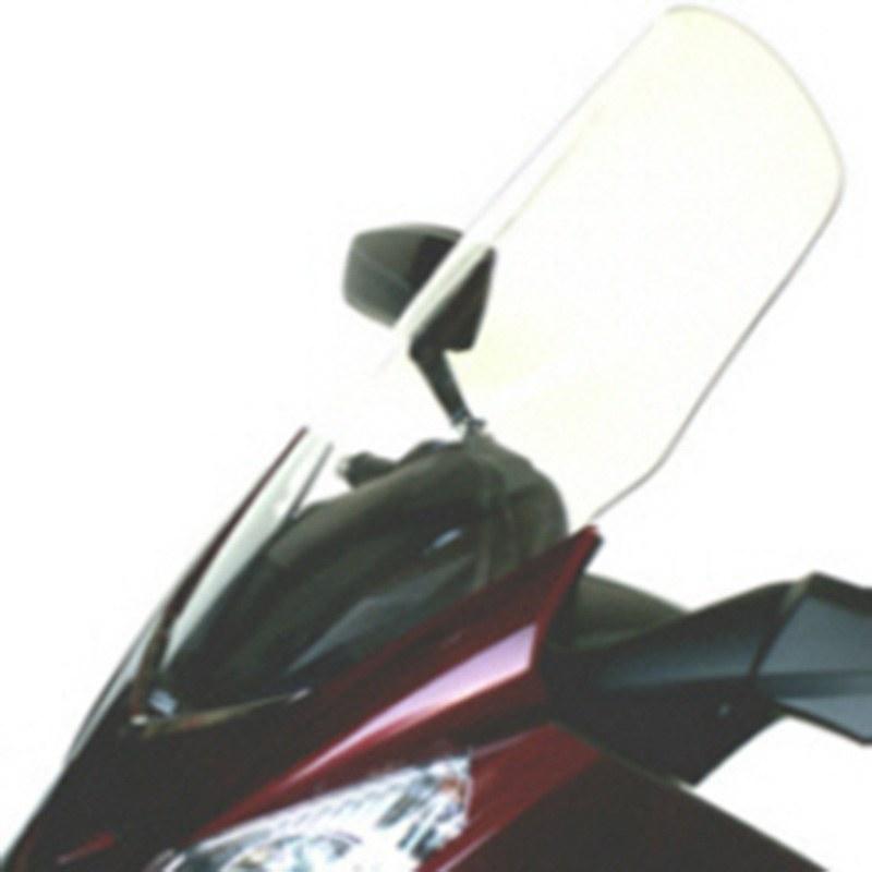 Pare Brise Bullster Haute Protection Fume Noir +70cm