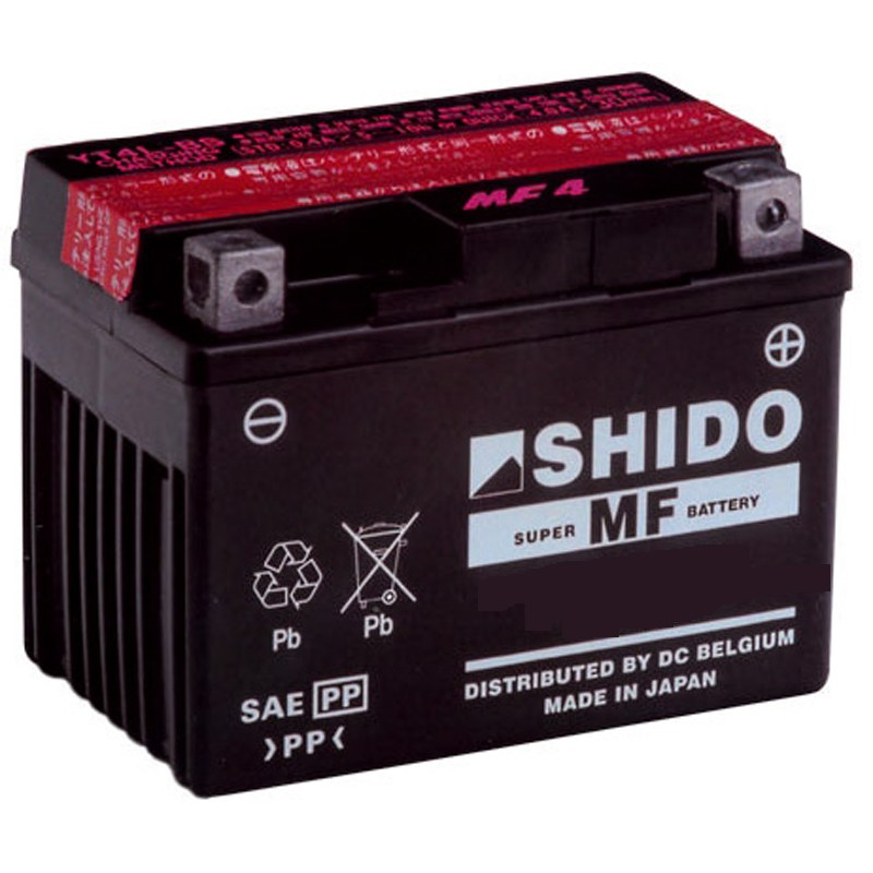batterie shido yb9l b ouvert sans acide type acide batteries. Black Bedroom Furniture Sets. Home Design Ideas