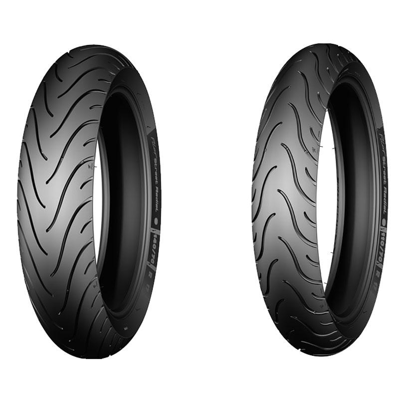 Pneumatique Michelin PILOT STREET 100/80 -17 (52S) TL/TT