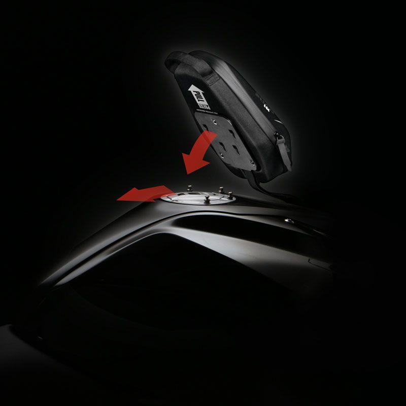 SHAD X0SE04P Sacoche E04P Pin System no Noir