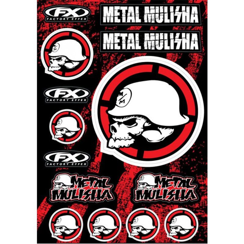 Stickers Factory Effex Metal Mulisha