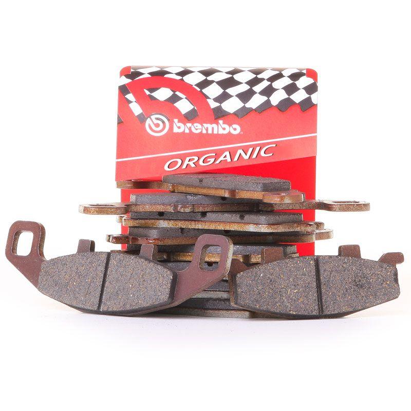Plaquettes de freins Brembo Organique avant/arrière (selon modèle)
