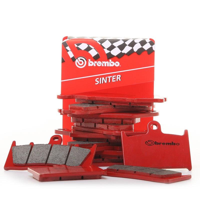 Plaquettes de freins Brembo Sinter Métal Fritté arrière (Spécial ABS selon modèle)
