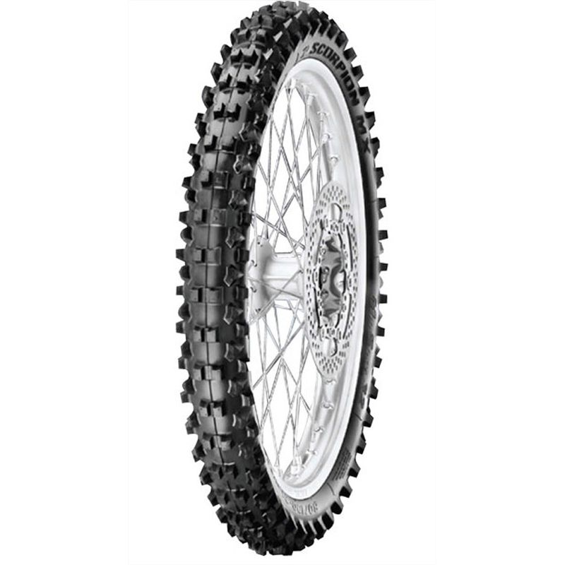 Pneumatique Pirelli SCORPION MX MID HARD 554 80/100-21 M/C 51M MST