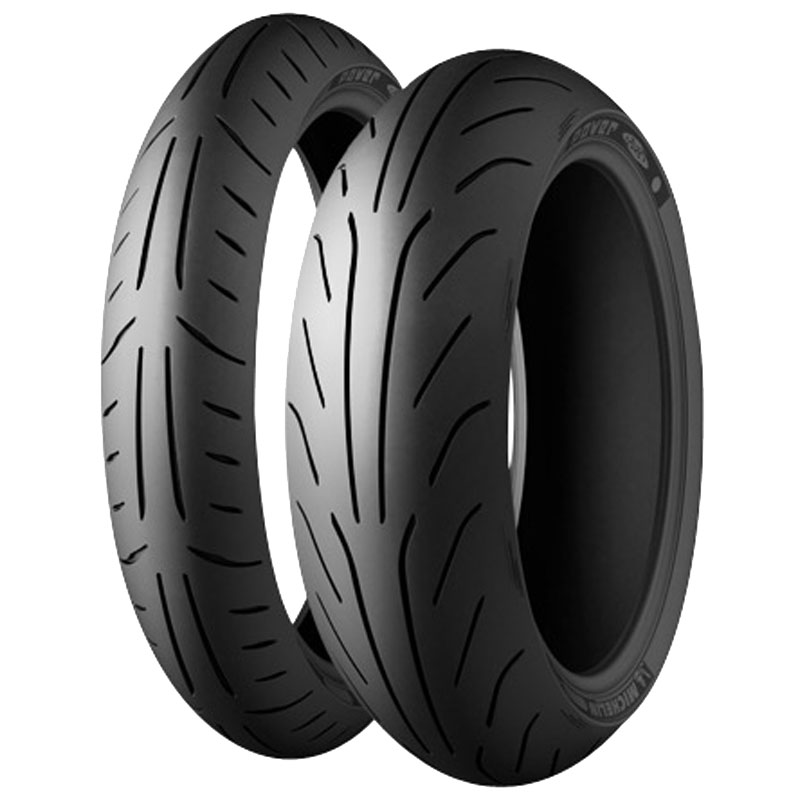 Pneumatique Michelin POWER PURE SC 130/80 -15 (63P) TL