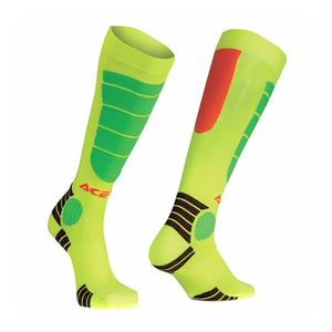 MX IMPACT JUNIOR - ORANGE FLUO / JAUNE FLUO -