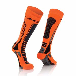 MX-PRO BLACK FLUO ORANGE