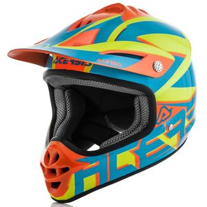 IMPACT JUNIOR 3.0 - BLEU ORANGE FLUO -