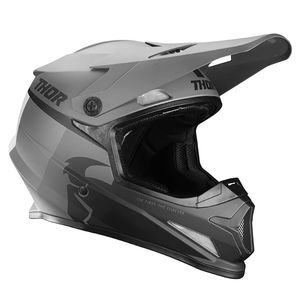 Casque cross Thor SECTOR - RACER - BLACK CHARCOAL