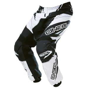 Pantalon cross O'Neal ELEMENT RACEWEAR 2017 NOIR BLANC