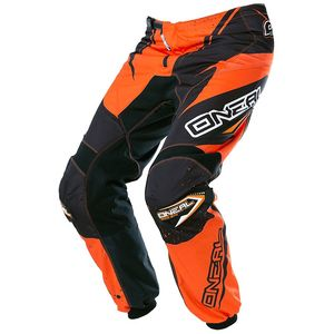 Pantalon cross O'Neal ELEMENT RACEWEAR 2017 NOIR ORANGE