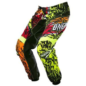 Pantalon cross O'Neal ELEMENT VANDAL 2017 NOIR NEON