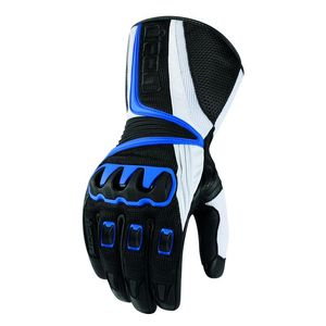 Gants Icon COMPOUND MESH LONG GLOVE Bleu