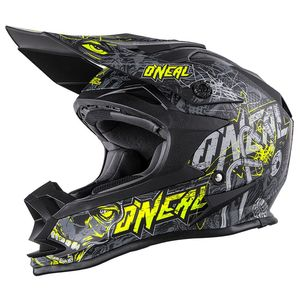 SERIES 7 EVO MENACE - GRIS JAUNE FLUO -