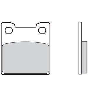 Plaquettes de freins Brembo Organique arrière