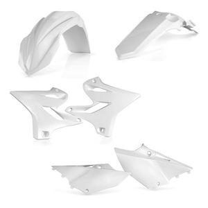 Kit plastiques Acerbis COULEUR BLANC