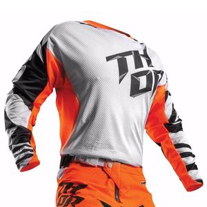 Maillot cross Thor YOUTH FUSE AIR DAZZ 2017 - BLANC ORANGE